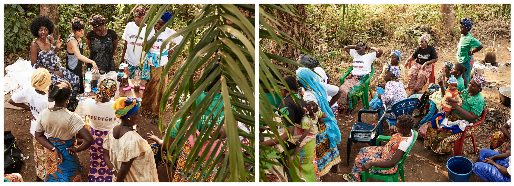 Natural dye trainings, village of Modiya