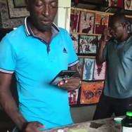 Joseph Boukougou - natural dye workshop, Grand-Bassam, Côte d'Ivoire