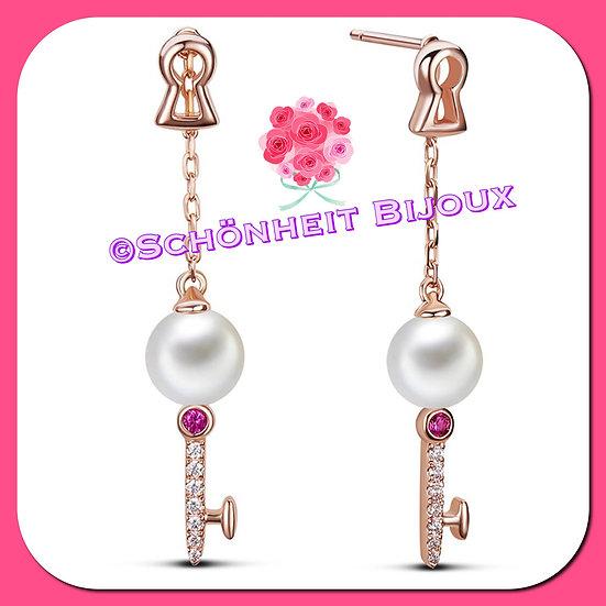 鍵ピアス/Key Earrings