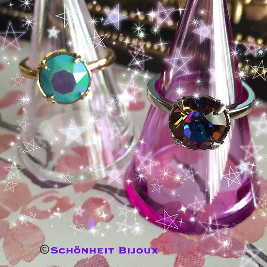 スワロフスキークリスタルリング/Swarovski Crystal Ring