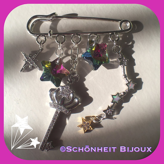 星ブローチピン/Star Brooch Pin
