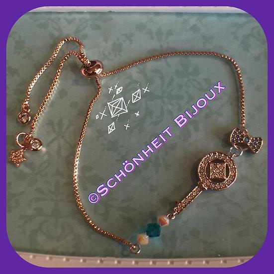 鍵ブレスレット / Key bracelet