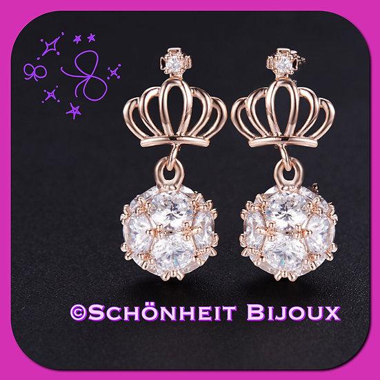 クラウンピアス/Crown Earrings