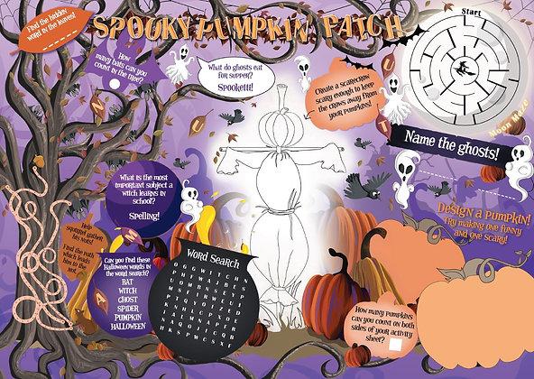 Halloween - Spooky Pumpkin Patch 1,000 Activity Sheets