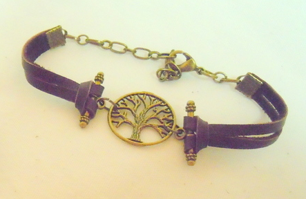 Bronze Tree of Life Bracelet BL 102