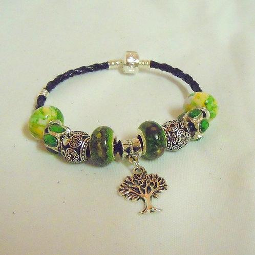 Green Tree of Life Bracelet PB 105