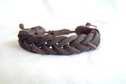 Dark Brown Fishtail Braid MB 121