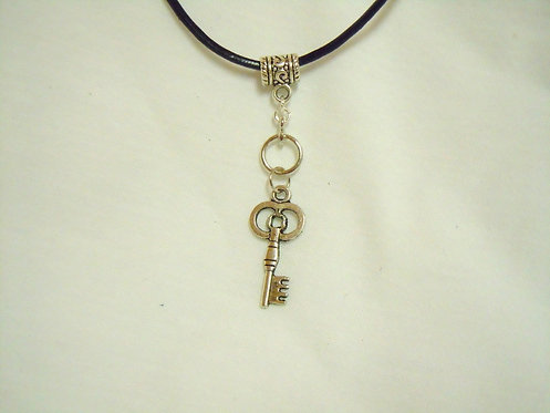 Bronze Key Necklace NBKB 103