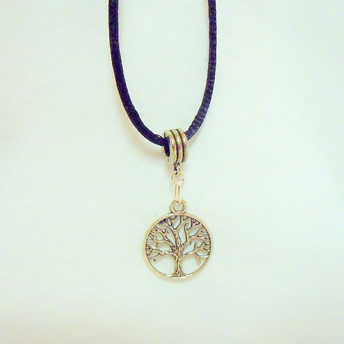Silver Tree of Life Necklace NST 101