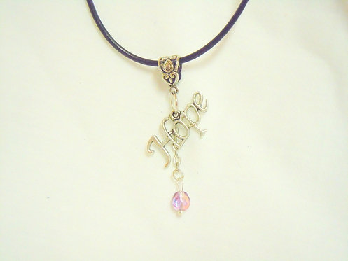 Silver Hope Necklace NSH 105