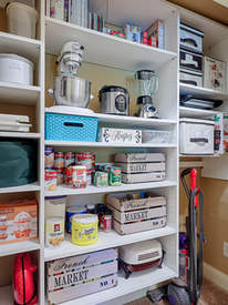 We can help with organizing more than just bedroom closets