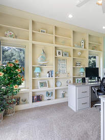 Custom furniture and built-ins.