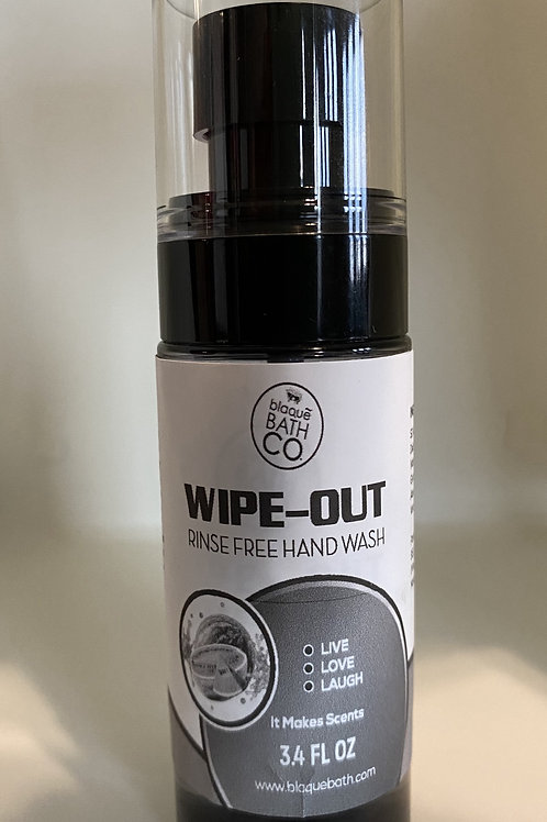 WIPE-OUT No Rinse Hand Wash