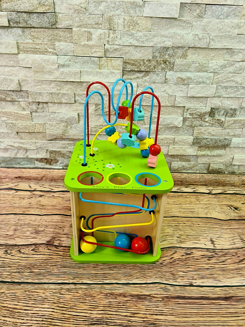 Activity Cube Personalised 5 in 1