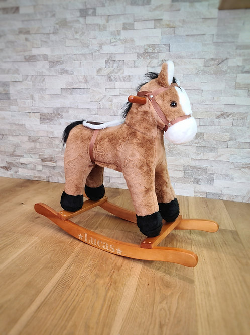 Personalised Rocking Horse With Sound