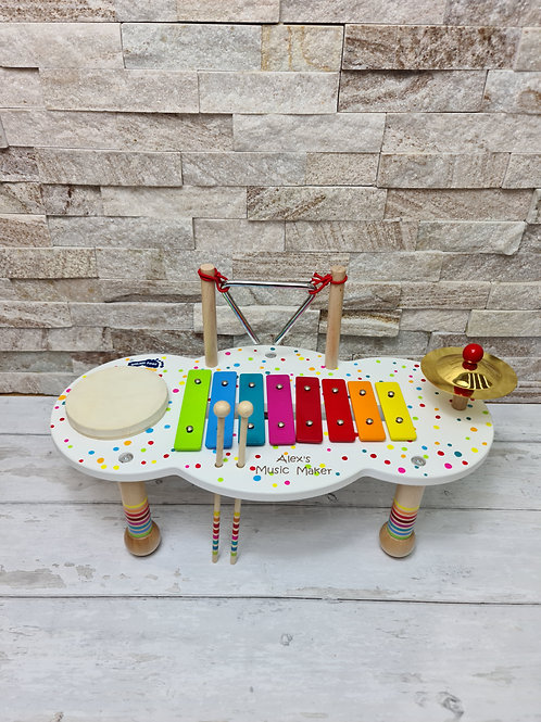 PRE ORDER* Personalised music table for children