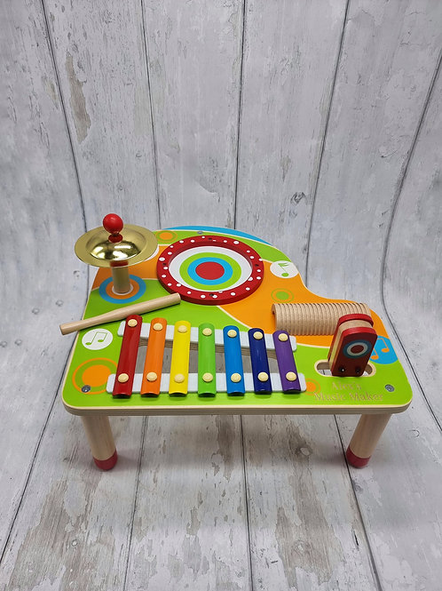 Colourful Music Table
