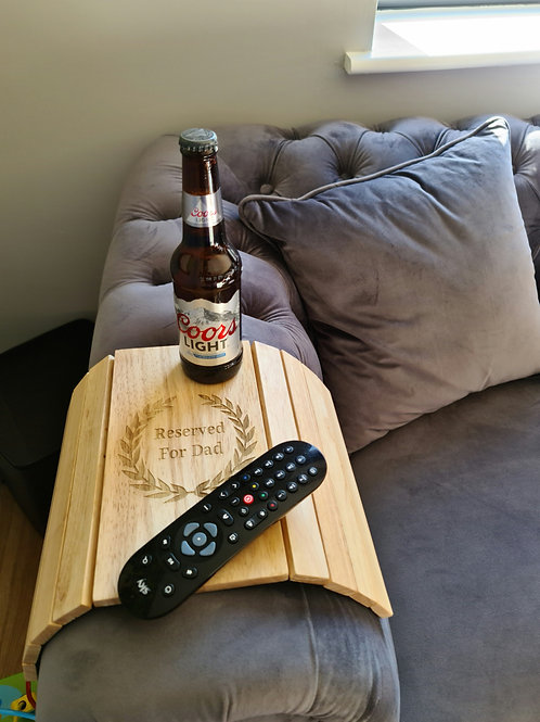 Know somebody who would love this?  This personalised sofa tray makes an amazing