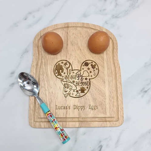 Disney toy story themed egg board