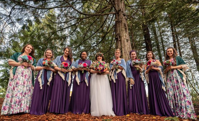 Bridal Party- Bridesmaids - Flowers 3.jp