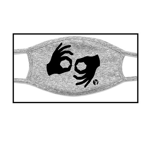 Interpreter Symbol Grey Facial Mask (Pre-Order)