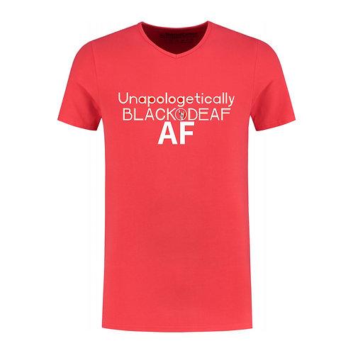 Black&Deaf AF Jersey T-Shirt (Pre-Order)