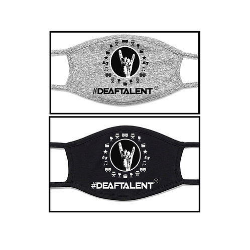 #DeafTalent® 2 Bundles Entertainment Masks (Pre-Order)