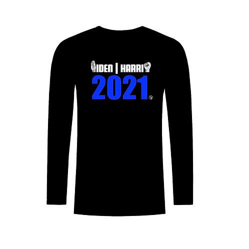 Biden/Harris 2021 Long Sleeves (ASL/W/O)