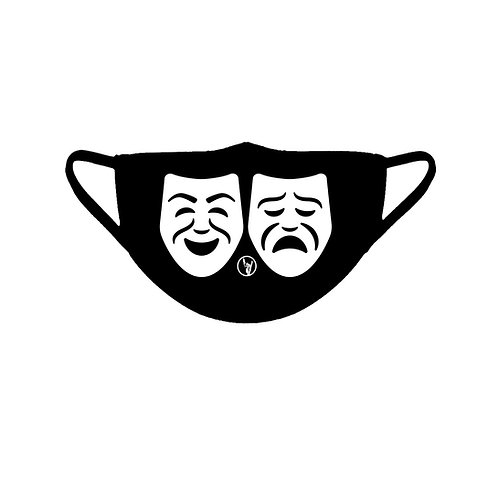 Facial Mask w/ Theater Masks (Pre-Order)