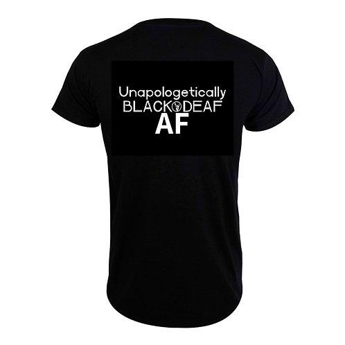 Black&Deaf AF Jersey T-Shirt