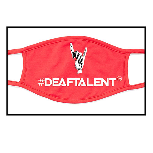 #DeafTalent™ Logo - Color Masks (Pre-Order/Single Order)