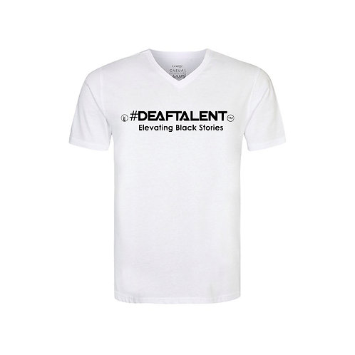 Elevating #BlackDeafTalent™ V-Neck Jersey (Pre-Order)