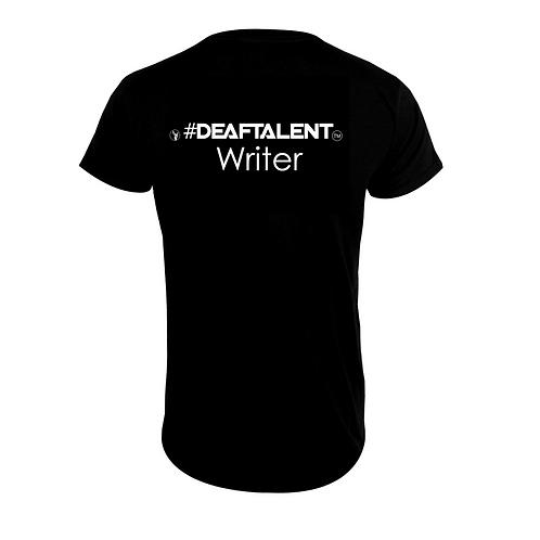 Writer #DeafTalent® Jersey T-Shirt (PreOrder)