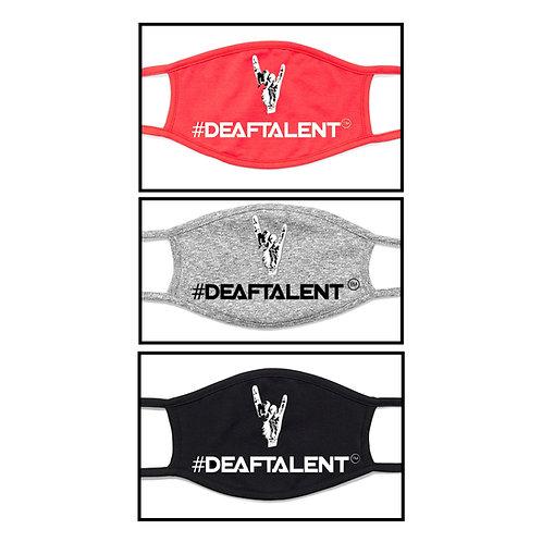 #DeafTalent® Logo - 3 Bundles Color Masks (Pre-Order)