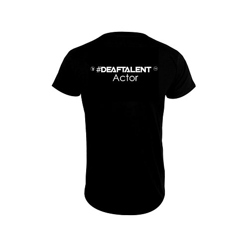 Actor #DeafTalent™ Jersey T-Shirt (Pre-Order)