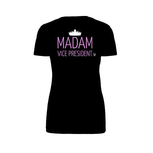 Madam Vice President Ladies Jersey T-shirt