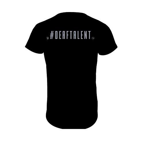 #DeafTalent® Jersey T-Shirt (Silver Metallic)