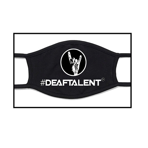 #DeafTalent™ Facial Mask