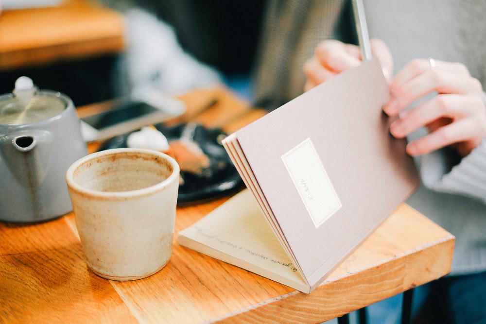 Begin met schrijven