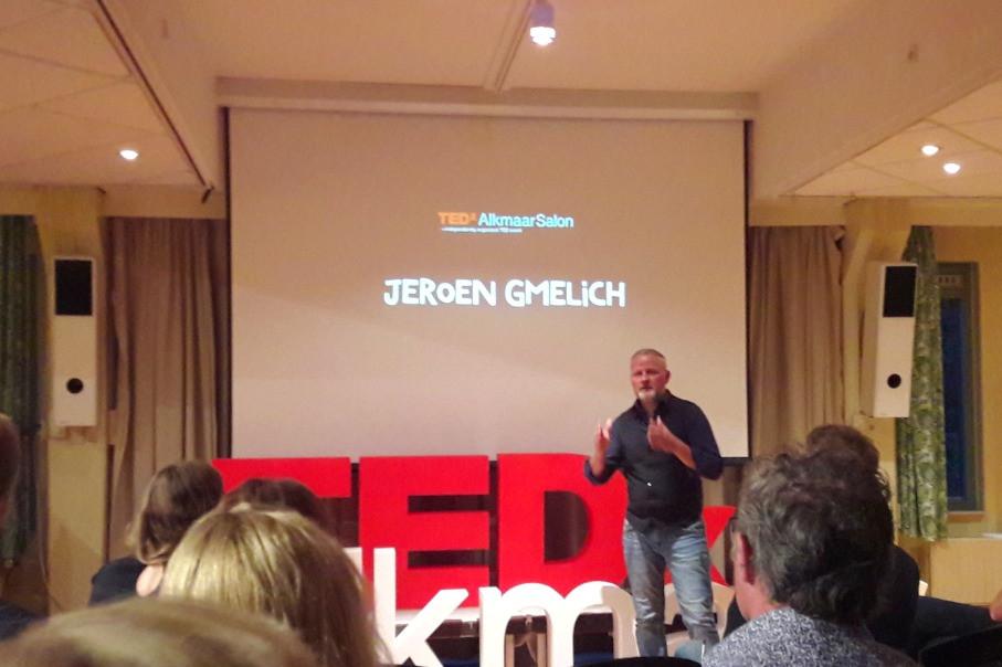 Jeroen Gmelich spreekt bij TEDx Alkmaar