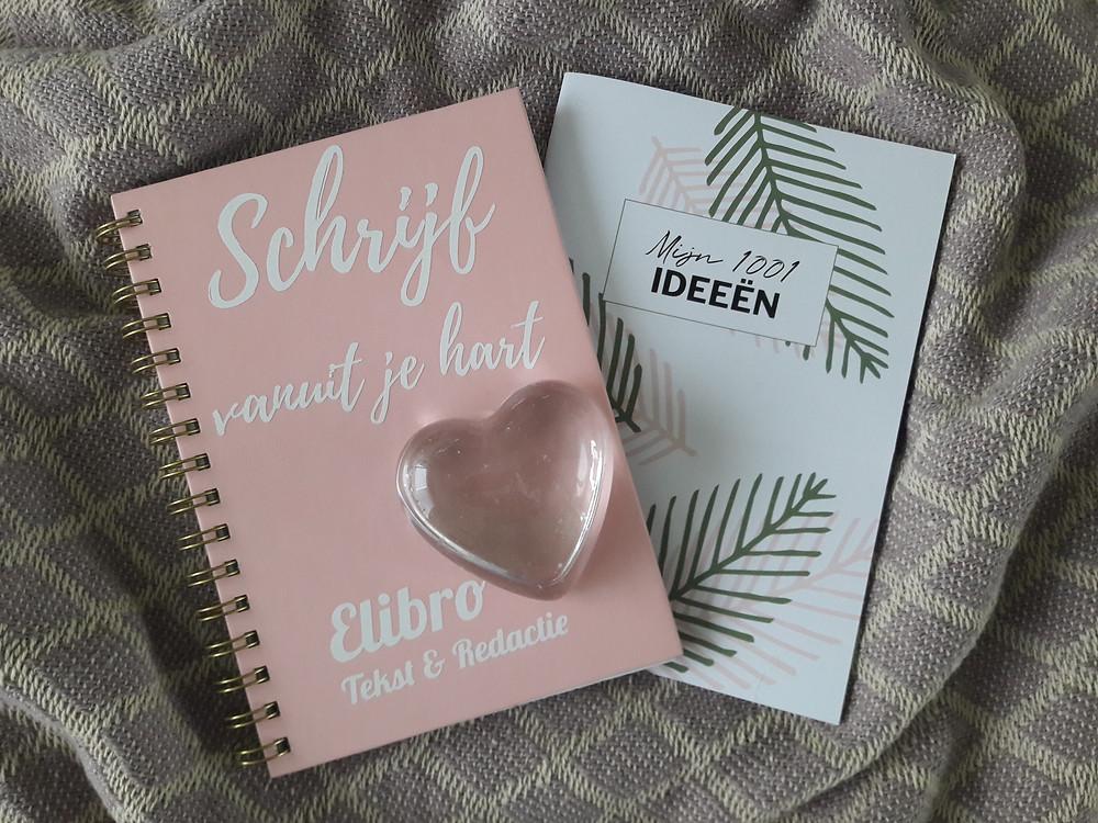 Schrijf vanuit je hart en zet je ideeën op papier