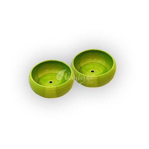 Ceramic Pot Bowl Planter - Set of 2