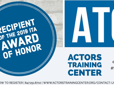 Honored to have been honored at the ITA's Annual Award Ceremony.