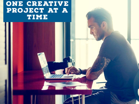 How to Stay Focused on One Creative Project at a Time