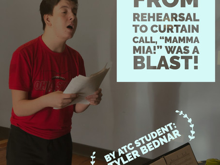 "From rehearsal to curtain call, ""Mamma Mia!"" was a blast!"