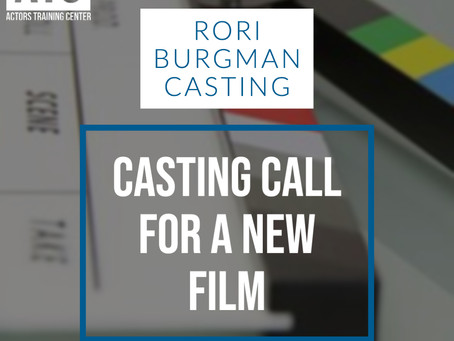 Casting Call for a New Film!