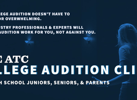 Actors Training Center Introduces the ATC College Audition Clinic