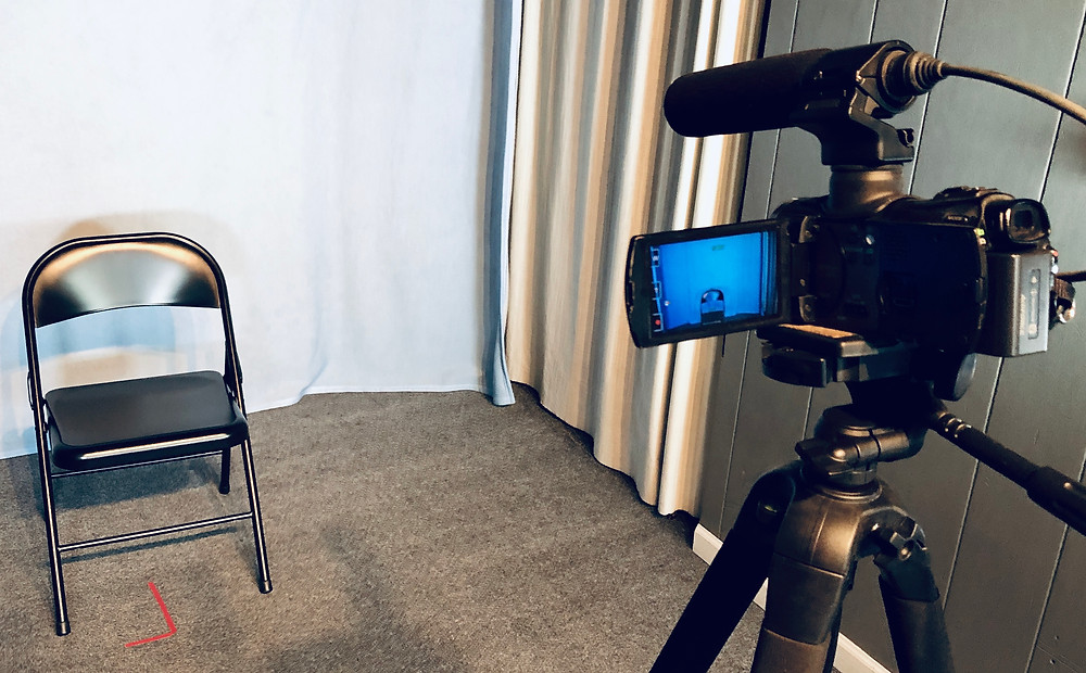 on camera training studio