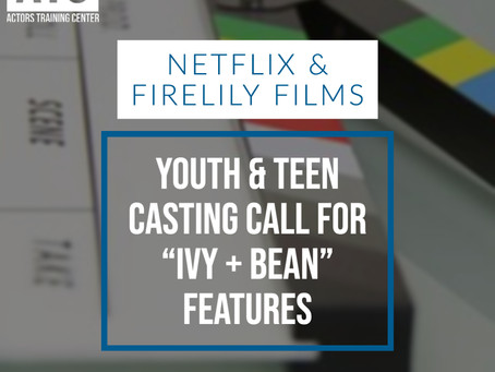 Casting Call for Young & Teen Actresses