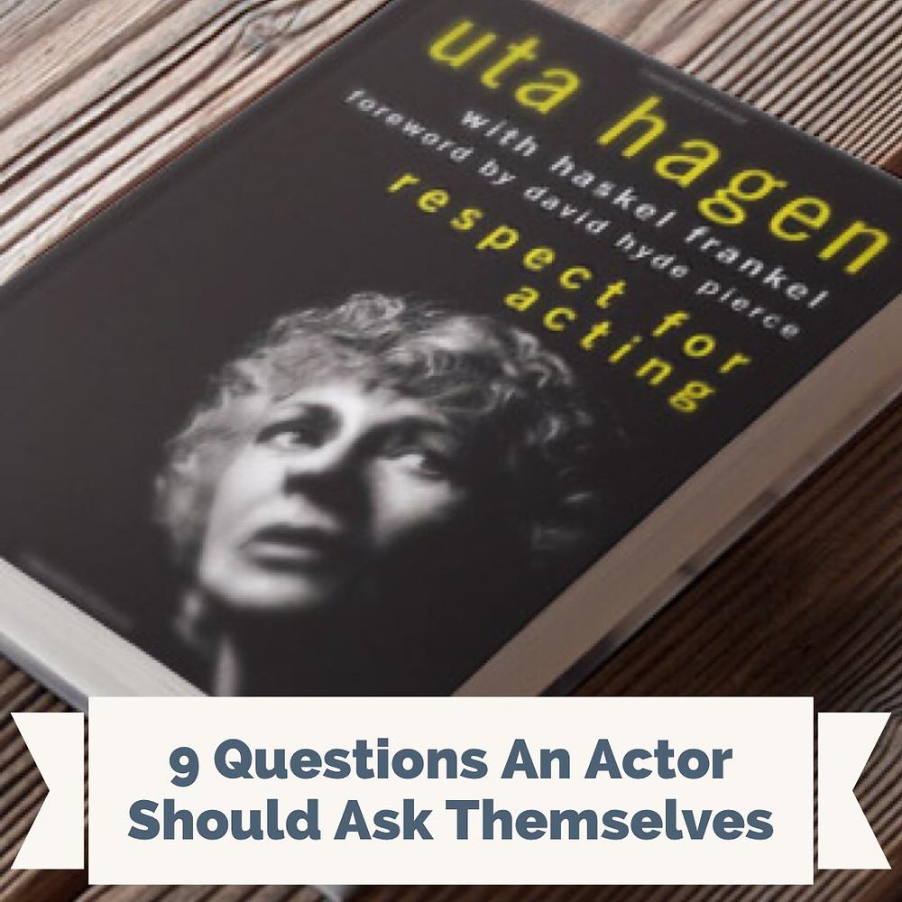 uta hagen respect for acting